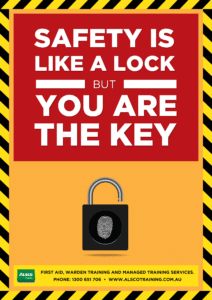 Safety is like a lock but you are the key