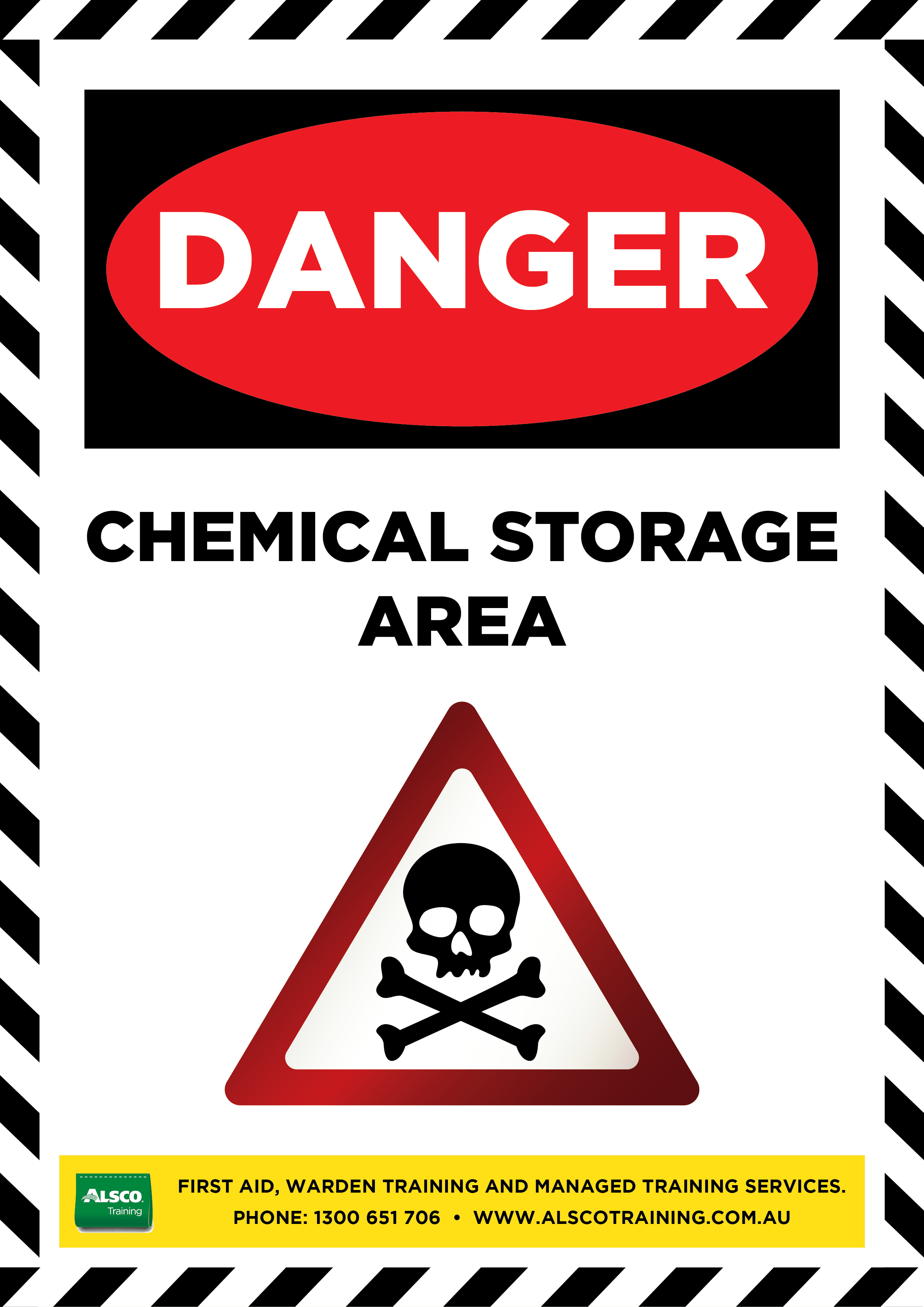 Danger Sign Posters Free Download Alsco Training