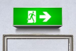 Alsco Emergency Exit Signs