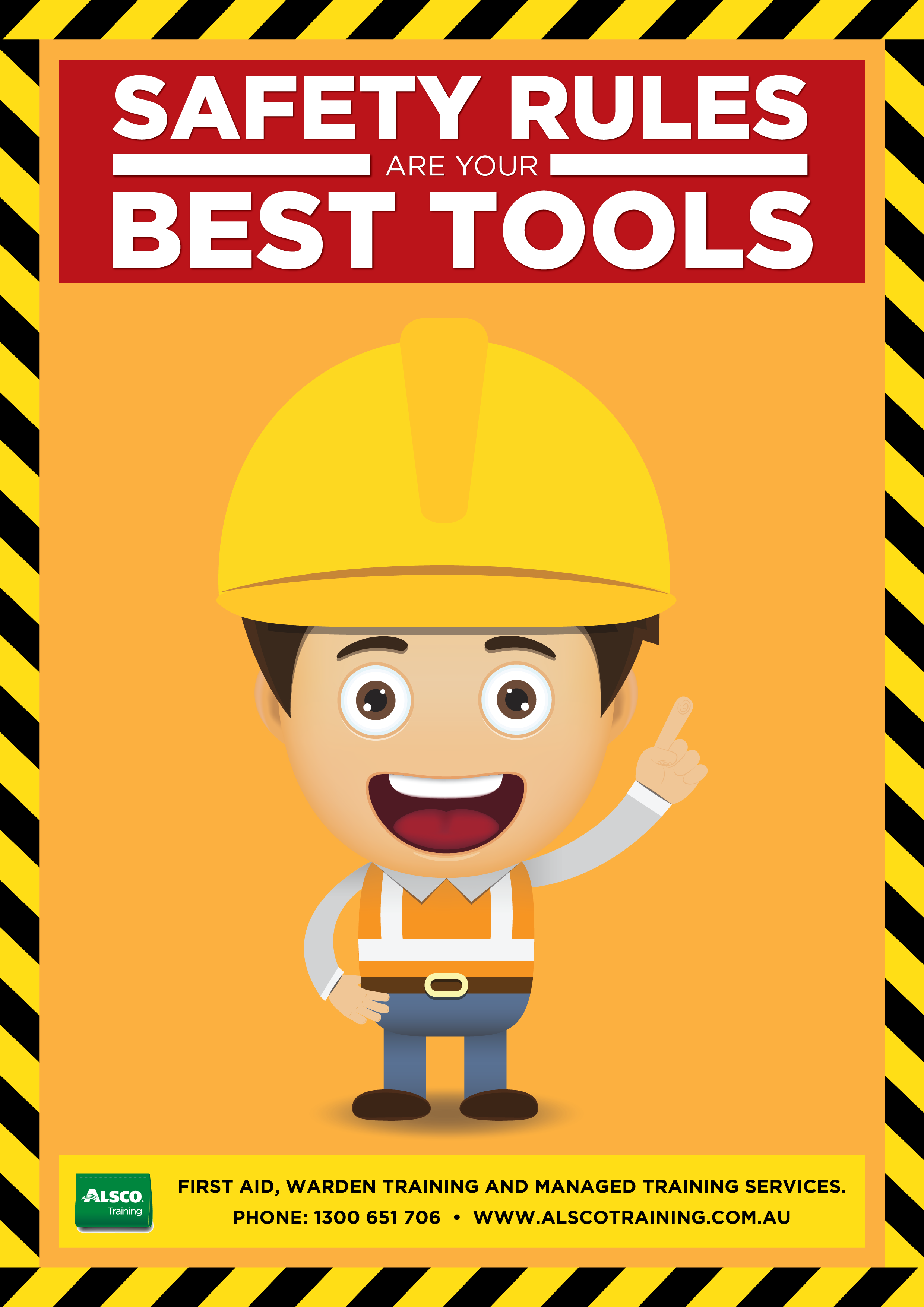 Alsco-Training-Safety-Posters-Safety-Rules-Best-Tools-A4 ...