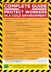 How to Protect Workers in a Cold Environment