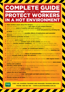 How to Protect Workers in a Hot Environment