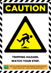 Caution: Tripping Hazard