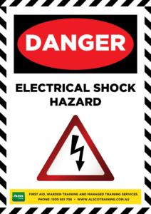 Danger: Electrical Shock Hazard
