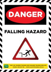 Danger: Falling Hazard