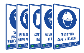 Alsco Training Mandatory Sign Posters